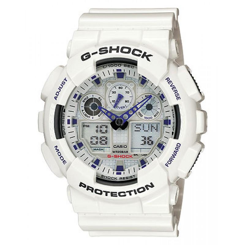 часы g shock ga 100a белые фактом является то